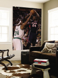 Atlanta Hawks v Boston Celtics: Marvin Williams and Paul Pierce Wall Mural by Elsa Unknown