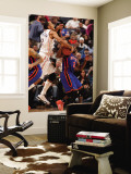 New York Knicks v Charlotte Bobcats: Raymond Felton and Shaun Livingston Wall Mural by Kent Smith
