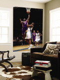 Los Angeles Lakers v Washington Wizards: Lamar Odom and Kevin Seraphin Wall Mural by Ned Dishman