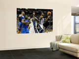 Oklahoma City Thunder v Memphis Grizzlies - Game Six, Memphis, TN - MAY 13: Russell Westbrook, Kend Wall Mural by Kevin Cox