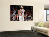 Miami Heat v Chicago Bulls - Game One, Chicago, IL - MAY 15: Carlos Boozer Wall Mural by Gregory Shamus