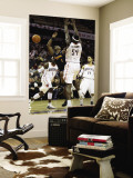 Denver Nuggets v Charlotte Bobcats: Chauncey Billups and Kwame Brown Wall Mural by Streeter