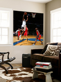 Toronto Raptors v Washington Wizards: Trevor Booker and Joey Dorsey Wall Mural by Ned Dishman