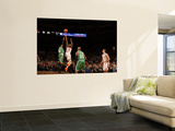 Boston Celtics v New York Knicks: Raymond Felton and Nate Robinson Wall Mural by Lou Capozzola