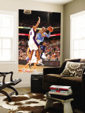 Denver Nuggets v Phoenix Suns: Carmelo Anthony and Channing Frye Wall Mural by Barry Gossage