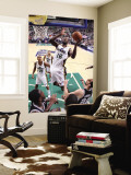 San Antonio Spurs v Utah Jazz: Francisco Elson and Manu Ginobili Wall Mural by Melissa Majchrzak
