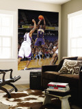 Indiana Pacers v Sacramento Kings: Darren Collison and Luther Head Wall Mural by Rocky Widner