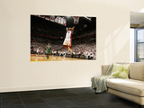 Boston Celtics v Miami Heat - Game Five, Miami, FL - MAY 11: LeBron James and Paul Pierce Wall Mural by Issac Baldizon