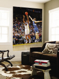 Minnesota Timberwolves v Golden State Warriors: Reggie Williams and Luke Ridnour Wall Mural by Rocky Widner