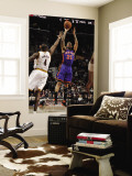 New York Knicks v Cleveland Cavaliers: Wilson Chandler and Antawn Jamison Wall Mural by David Liam Kyle