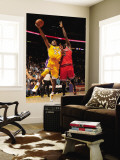 Chicago Bulls v Los Angeles Lakers: Kobe Bryant and Luol Deng Wall Mural by Noah Graham
