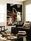 Cleveland Cavaliers  v Indiana Pacers: Ramon Sessions and Solomon Jones Wall Mural by Ron Hoskins