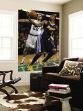 Denver Nuggets v Boston Celtics: J.R. Smith and Semih Erden Wall Mural by Elsa Unknown
