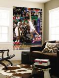Indiana Pacers v Utah Jazz: Andrei Kirilenko and Danny Granger Wall Mural by Melissa Majchrzak