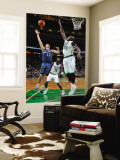 Washington Wizards v Boston Celtics: Kirk Hinrich and Shaquille O'Neal Wall Mural by Brian Babineau