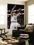 Atlanta Hawks v Boston Celtics: Luke Harangody and Josh Smith Wall Mural by Elsa Unknown