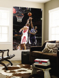 Memphis Grizzlies v Houston Rockets: O.J. Mayo and Shane Battier Wall Mural by Bill Baptist