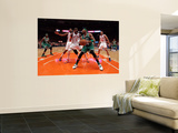Boston Celtics v New York Knicks - Game Four, New York, NY - April 24: Paul Pierce, Amar'e Stoudemi Wall Mural
