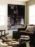 Miami Heat v Dallas Mavericks: Chris Bosh and Tyson Chandler Wall Mural by Glenn James