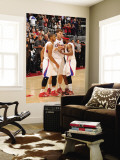 San Antonio Spurs v Los Angeles Clippers: Eric Gordon, Blake Griffin and Baron Davis Wall Mural by Noah Graham