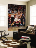 Indiana Pacers v Chicago Bulls - Game Two, Chicago, IL- April 18: Carlos Boozer and Josh McRoberts Wall Mural