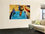 Oklahoma City Thunder v New Orleans Hornets: Chris Paul Wall Mural by Chris Unknown