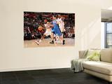 Orlando Magic v Los Angeles Clippers: Baron Davis and J.J. Redick Wall Mural by Noah Graham