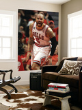 Miami Heat v Chicago Bulls - Game One, Chicago, IL - MAY 15: Carlos Boozer Wall Mural by Jonathan Daniel
