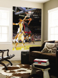 Miami Heat v Golden State Warriors: Chris Bosh and Andris Biedrins Wall Mural by Rocky Widner