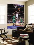 Boston Celtics v Philadelphia 76ers: Thaddeus Young and Glen Davis Wall Mural by David Dow