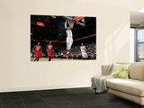 New Jersey Nets v Atlanta Hawks: Josh Smith, Jamal Crawford, Anthony Morrow and Johan Petro Wall Mural by Kevin Cox