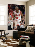 Miami Heat v Chicago Bulls - Game One, Chicago, IL - MAY 15: Luol Deng Wall Mural by Gregory Shamus
