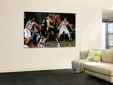 Utah Flash v Idaho Stampede: Brandon Costner and Antoine Walker Wall Mural by Otto Kitsinger