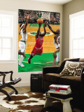 Chicago Bulls v Boston Celtics: Luol Deng and Kevin Garnett Wall Mural by Brian Babineau
