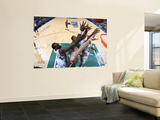 Milwaukee Bucks v Utah Jazz: Paul Millsap, Al Jefferson, Ersan Ilyasova and Larry Sanders Wall Mural by Melissa Majchrzak