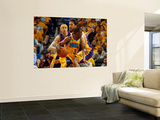 Los Angeles Lakers v New Orleans Hornets - Game Three, New Orleans, LA - APRIL 22: Chris Paul and P Wall Mural by Chris Graythen
