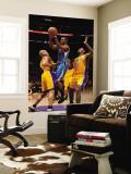 New Orleans Hornets v Los Angeles Lakers - Game Five, Los Angeles, CA - April 26: Chris Paul, Derek Wall Mural