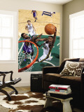 Golden State Warriors v Utah Jazz: C.J. Miles and Dorell Wright Wall Mural by  Melissa