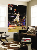 New York Knicks v Charlotte Bobcats: Stephen Jackson Wall Mural by Kent Smith
