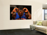 New York Knicks v Denver Nuggets: Amar'e Stoudemire Wall Mural by Doug Pensinger