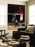 Boston Celtics v New York Knicks - Game Four, New York, NY - April 24: Carmelo Anthony and Paul Pie Wall Mural