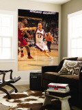 Cleveland Cavaliers  v Phoenix Suns, Phoenix - January 9: Steve Nash and J.J. Hickson Wall Mural by Barry Gossage