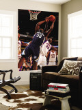 Memphis Grizzlies v Phoenix Suns: Earl Barron and Zach Randolph Wall Mural by Barry Gossage