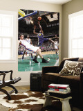 Los Angeles Clippers v Utah Jazz: C.J. Miles and Nick Collison Wall Mural by Melissa Majchrzak