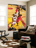 Chicago Bulls v Miami Heat - Game FourMiami, FL - MAY 24: Dwyane Wade and Luol Deng Wall Mural by Victor Baldizon