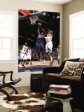 Charlotte Bobcats v Atlanta Hawks: Kwame Brown and Maurice Evans Wall Mural by Scott Cunningham