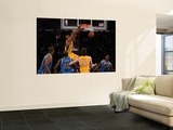New Orleans Hornets v Los Angeles Lakers - Game Two, Los Angeles, CA - April 20: Kobe Bryant and Em Wall Mural
