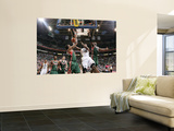 Milwaukee Bucks v Utah Jazz: C.J. Miles, Chris Douglas-Matthews and Luc Mbah a Moute Wall Mural by Melissa Majchrzak