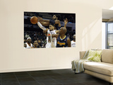 Denver Nuggets v Charlotte Bobcats: Nene, Chauncey Billups and D.J. Augustin Wall Mural by  Streeter