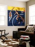 Portland Trail Blazers v Memphis Grizzlies: Rudy Gay, Sean Marks and Marcus Camby Wall Mural by Joe Murphy
